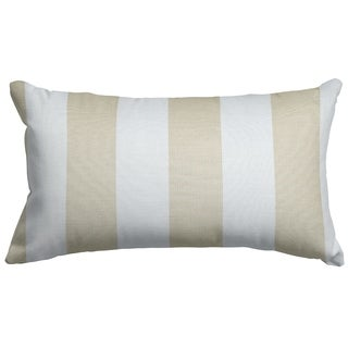 Majestic Home Goods Vertical Stripe Small Pillow 12x20