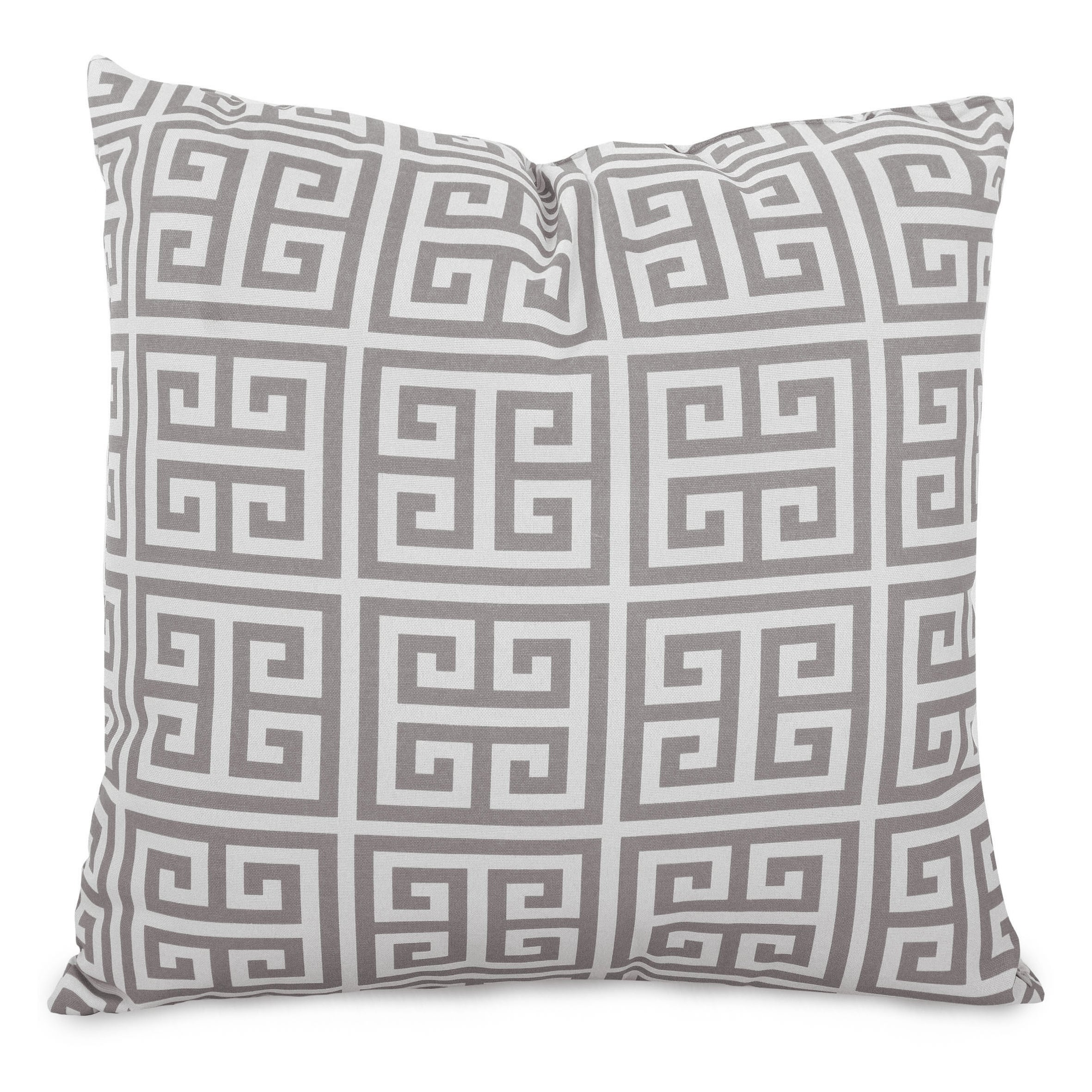Majestic Home Goods Gray Towers Indoor Outdoor Large Pillow 20 L X 8 W X 20 H Overstock 22277184