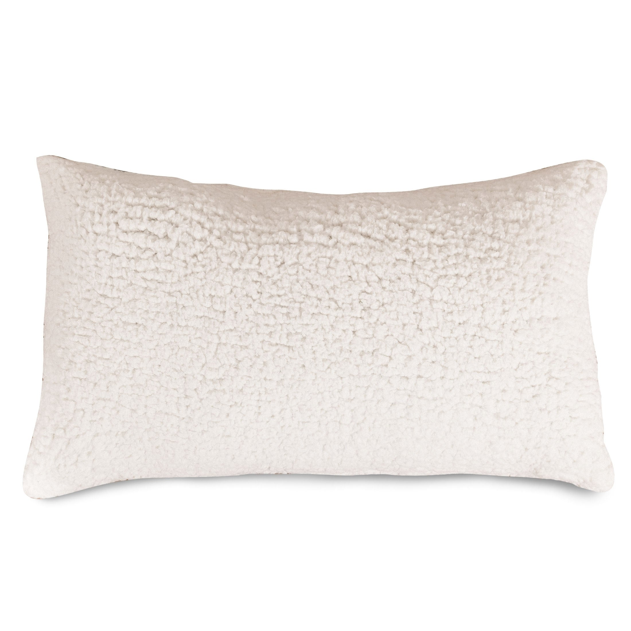 Majestic Home Goods Indoor Cream Sherpa Small Decorative Throw Pillow 20 X 12 Overstock 22277311