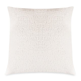 Majestic Home Goods Cream Sherpa Extra Large Throw Pillow 24 X 24