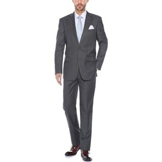 Verno Men's Classic-Fit Pinstripe 2-Piece Suit (Jacket & Pants)