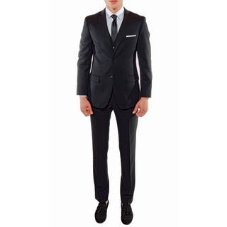 Ferrecci Stylish Slim Fit 3pc Suit Jacket with Vest and Dress Pants