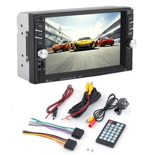 HD Car MP5 Player Bluetooth FM Radio DVD Player With Rearview Camera
