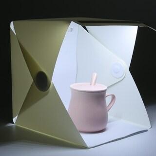 Mini LED Photo Studio Box Waterproof Photography Studio Backdrop Box
