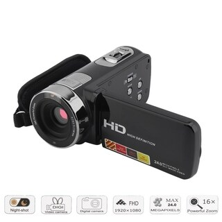 LCD 24MP 16X Digital Zoom Infrared Night Vision HD Camera Camcorder