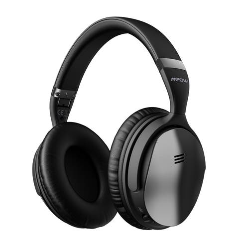 Mpow Foldable Headset, Wireless Headphones Bluetooth Headset with Mic for PC/Cell Phones/TV