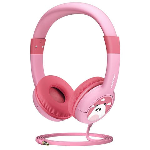 Mpow Kids Headphones Wired On-Ear Headphones for Children Toddler Baby