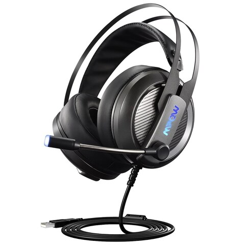 Mpow EG4 Gaming Headset, Virtual 7.1 Surround Sound Gaming Headphones for PC, PS4