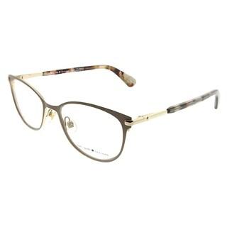 Kate Spade Cat-Eye KS Jabria L93 Women Nude Havana Honey Frame Eyeglasses