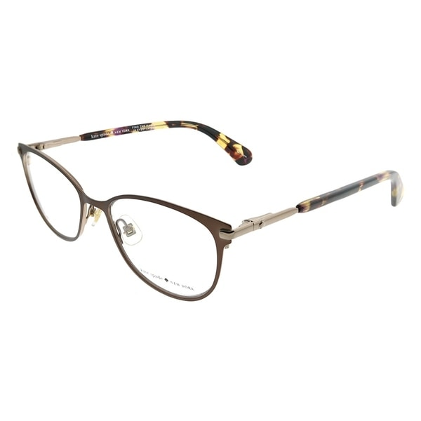 7fb253328b Kate Spade Cat-Eye KS Jabria WR9 Women Brown Havana Frame Eyeglasses