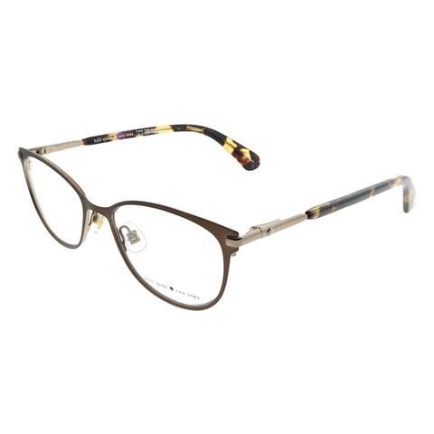836156b30c71c Kate Spade Cat-Eye KS Jabria WR9 Women Brown Havana Frame Eyeglasses