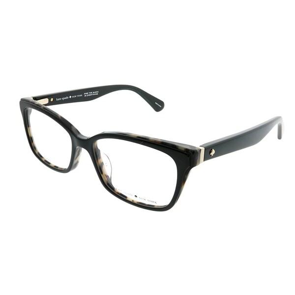 Shop Kate Spade Rectangle Ks Jeri 807 Women Black Frame Eyeglasses