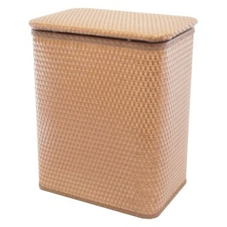 Redmon Home Chelsea Pattern Wicker Nursery Hamper - Nutmeg
