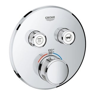 Grohe Grohtherm Thermostatic Trim 29137000 Starlight Chrome