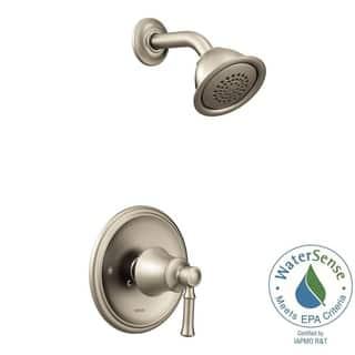 moen dartmoor shower faucet t2182epbn brushed nickel - Moen Bathroom Fixtures