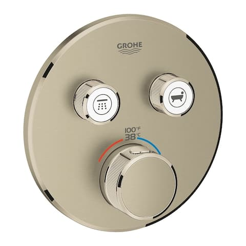 Grohe Grohtherm Thermostatic Trim 29137EN0 Brushed Nickel