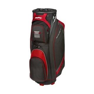 BagBoy Revolver FX Cart Bag - Black/Red/Silver
