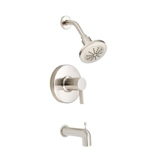 Danze Amalfi Tub and Shower Faucet D511030BNT Brushed Nickel