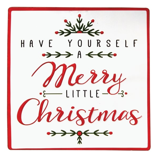 Have Yourself A Merry Little Christmas Sign.Merry Little Christmas Sign