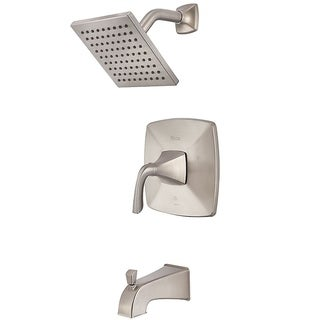 Pfister Bronson Tub and Shower Faucet LG89-8BSK Brushed Nickel
