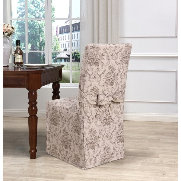 Kathy Ireland Chateau Dining Chair Cover