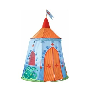 """HABA Play Tent Knight's Hold - 75"""" Castle Themed Playhouse"""