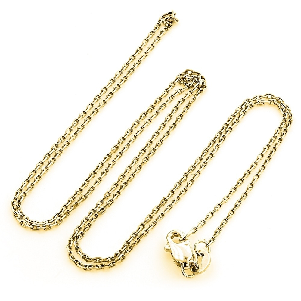 Shop Hip Hop Jewelry 10k Gold Large Diamond Double Cross Mens Pendant 0 4ctw 18 Chain Necklace By Luxurman Overstock 22278058