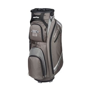 BagBoy Revolver FX Cart Bag - Black/Charcoal/Silver