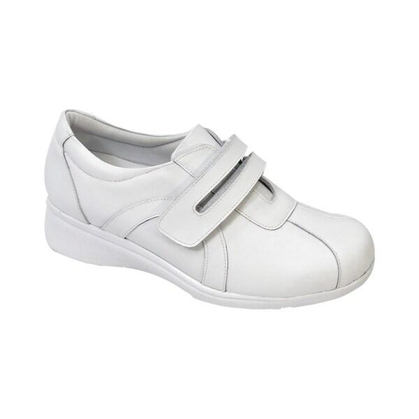 023229d8a93 24 HOUR COMFORT Bonnie Women Adjustable Extra Wide Width Walking Shoe