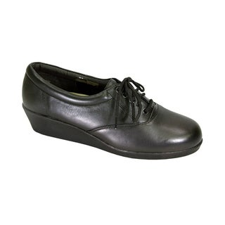 24 HOUR COMFORT Debbie Women Extra Wide Width Lace Up Comfort Shoes
