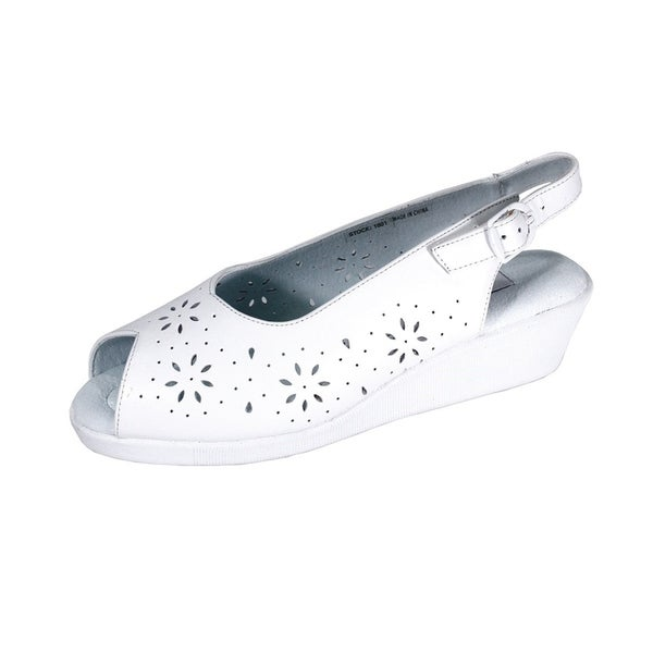 62ed0d5e38ef2 Buy Size 11 24 Hour Comfort Women s Sandals Online at Overstock ...