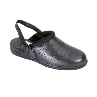 24 HOUR COMFORT Carrie Women Extra Wide Width Slingback Clog Shoes