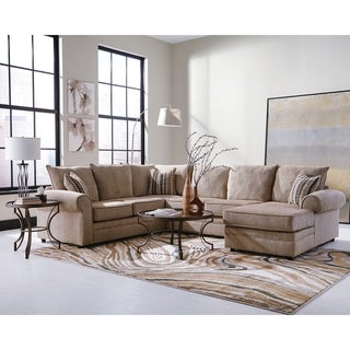 Amazing Buy Cream Sectional Sofas Online At Overstock Our Best Theyellowbook Wood Chair Design Ideas Theyellowbookinfo
