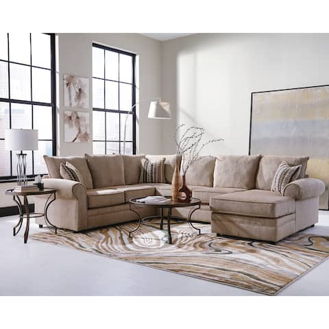 Buy Cream Sectional Sofas Online at Overstock | Our Best Living Room ...