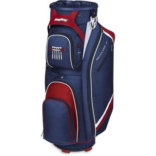 BagBoy Revolver FX Cart Bag - Navy/Red/White