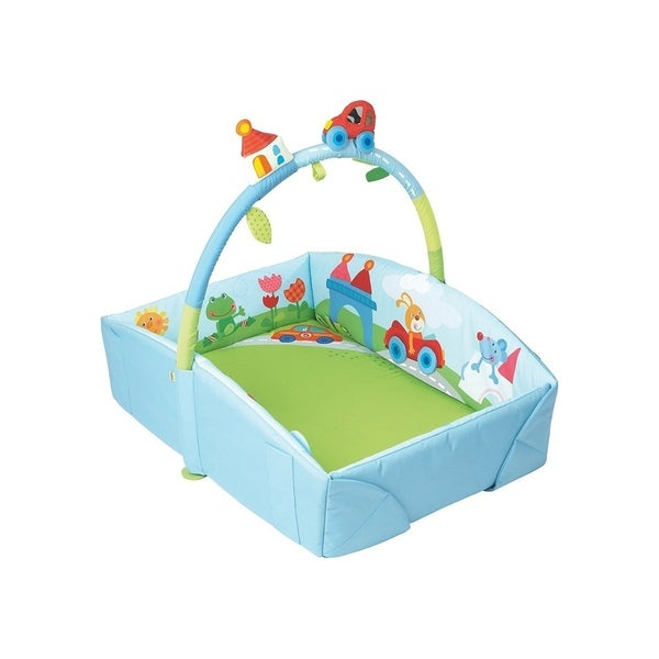 HABA Whimsy City Soft Fabric Play Gym with Detachable Arch 37078117