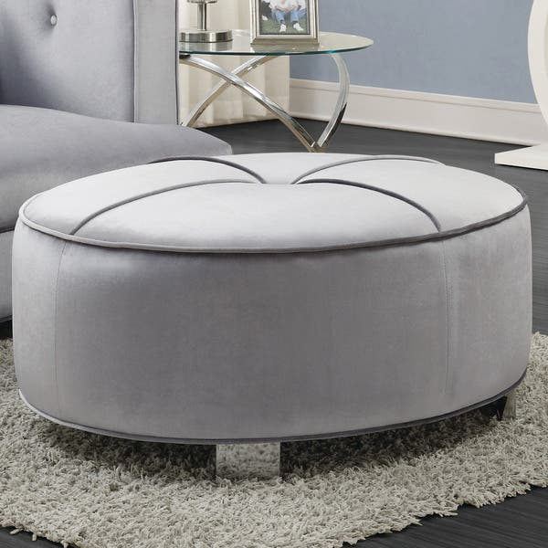 Sensational Shop Bling Game Living Room Ottoman Free Shipping Today Bralicious Painted Fabric Chair Ideas Braliciousco