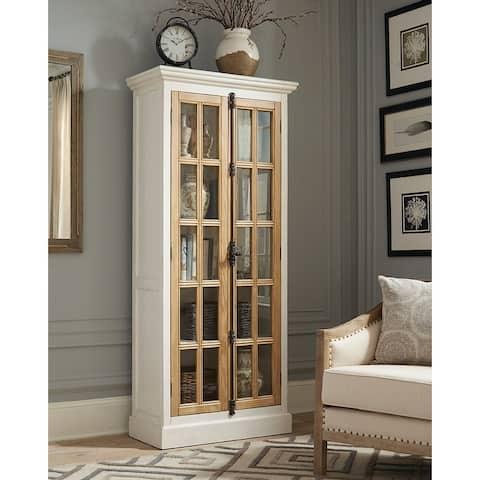 Coaster Two-tone Curio Cabinet