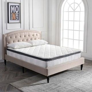PostureLoft Valetta 9-Inch Full-Size Memory Foam and Innerspring Hybrid Pillow Top Mattress