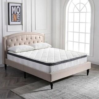 PostureLoft Valetta 9-Inch Queen-Size Memory Foam and Innerspring Hybrid Pillow Top Mattress