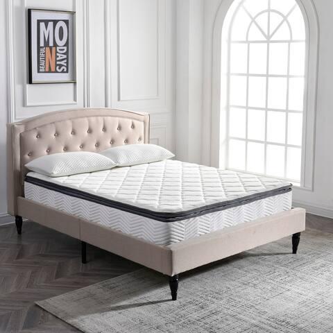 Classic Brands Valetta 9-Inch Hybrid Pillow Top Mattress