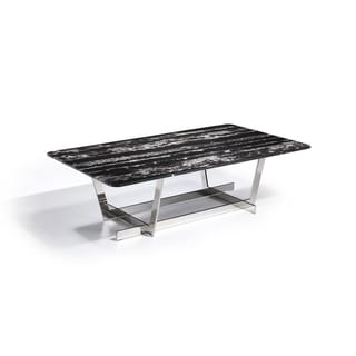 Black and White Marble Coffee Table