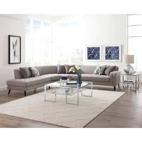 Carson Carrington Cappagh Grey Sectional