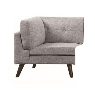 Churchill Modern Grey CORNER Chair