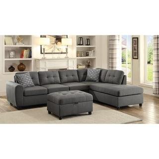 Buy Linen, L Shape Sectional Sofas Online At Overstock.com | Our Best  Living Room Furniture Deals