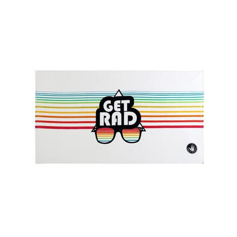 Body Glove 36x70 Get Rad Beach Towel - Multi