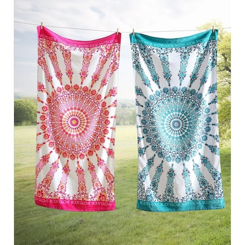 Body Glove 36x70 Medallion Beach Towel