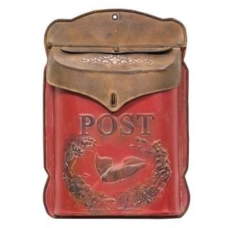 Red & Rust Post Box