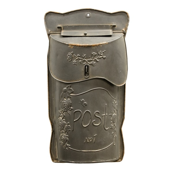 Aged Black Post Box