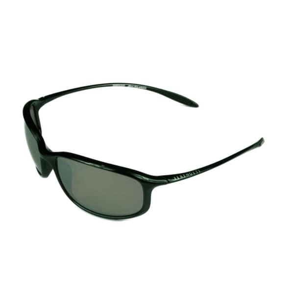 4f6a3cd8a47 Serengeti Unisex Sestriere Shiny Satin Black w  Polarized PDH Sedona Mirror  Lens Sunglasses -